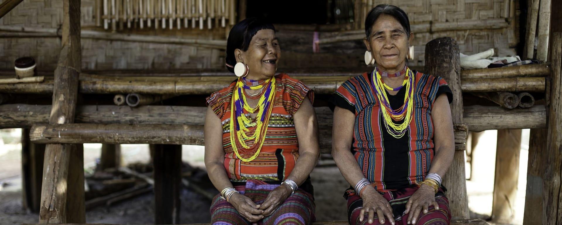 Le nord fascinant du Laos de Luang Prabang: Hilltribe Women