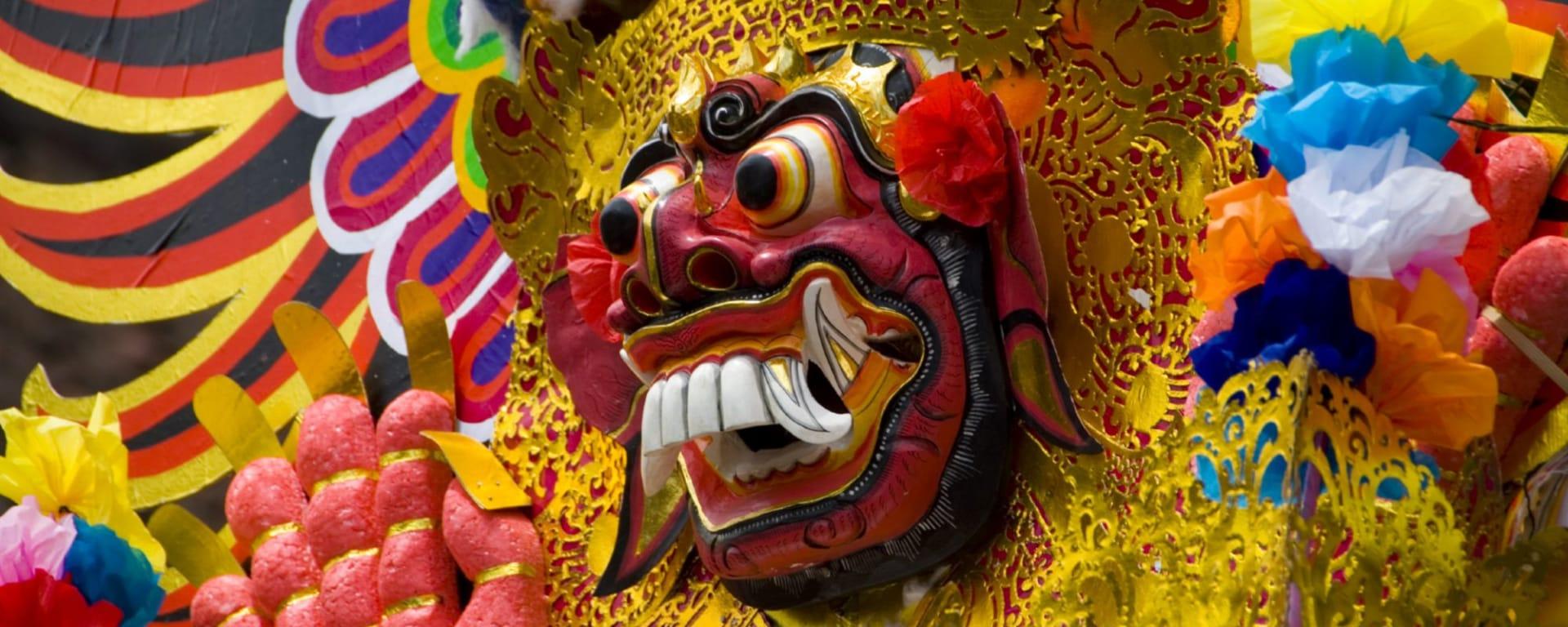 Höhepunkte Balis ab Südbali: Bali Mask