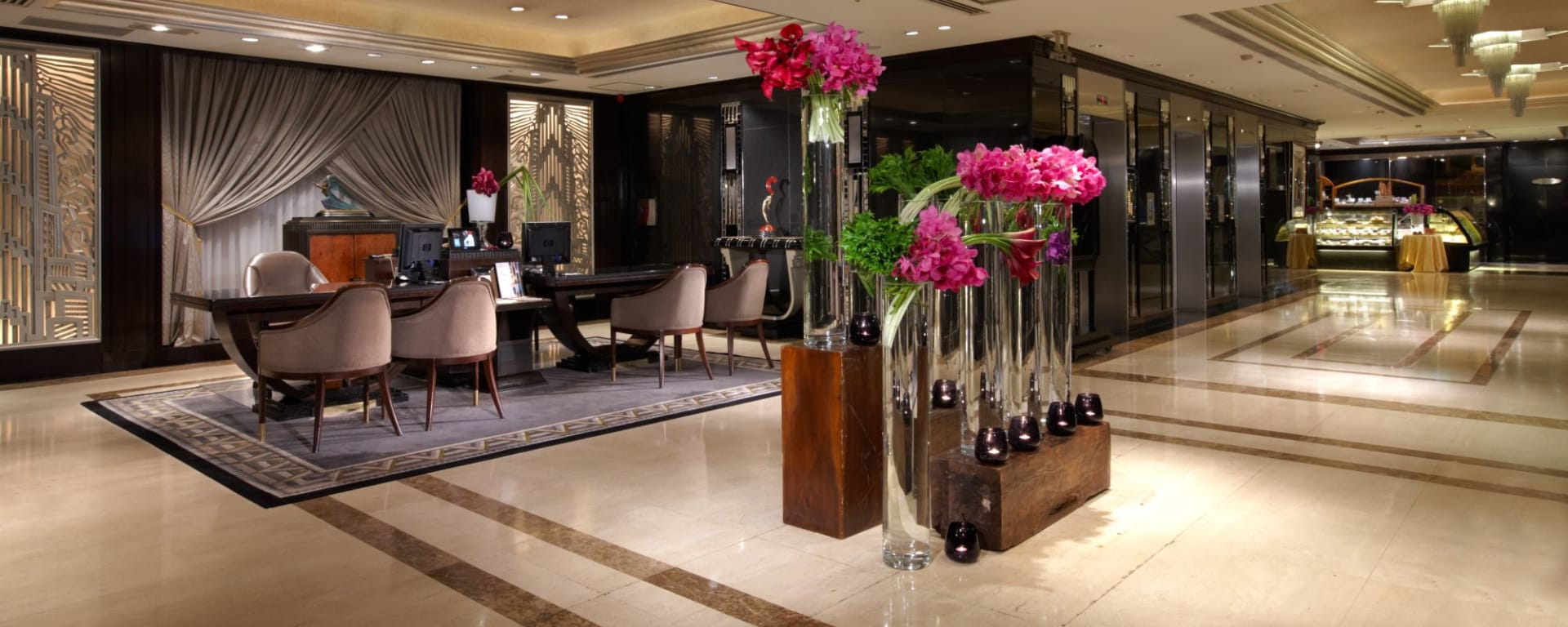 The Landis in Taipei: lobby