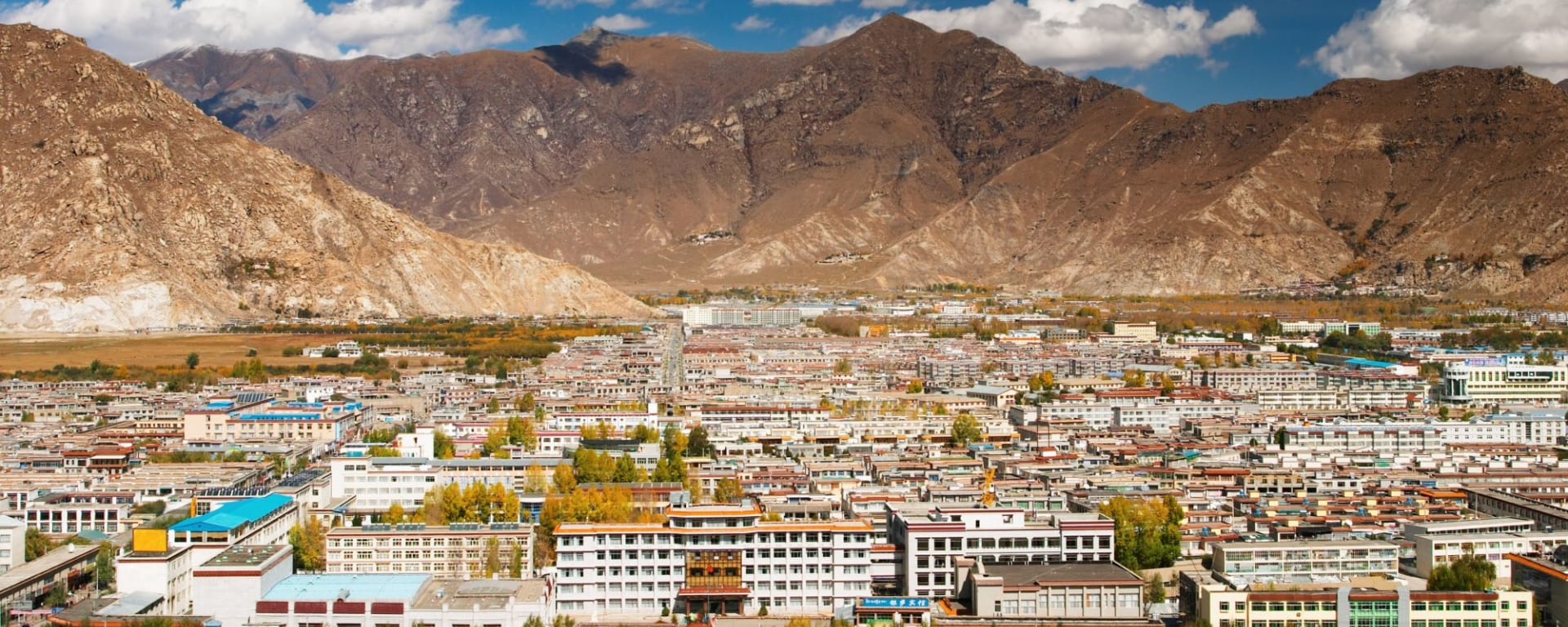 Die Magie des Tibets - Basis & Tsetang Verlängerung ab Lhasa: Lhasa beautiful view