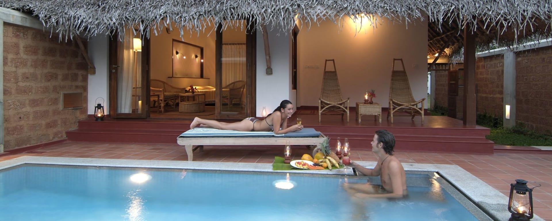 Marari Beach Resort à Mararikulam: Garden Villa with private pool