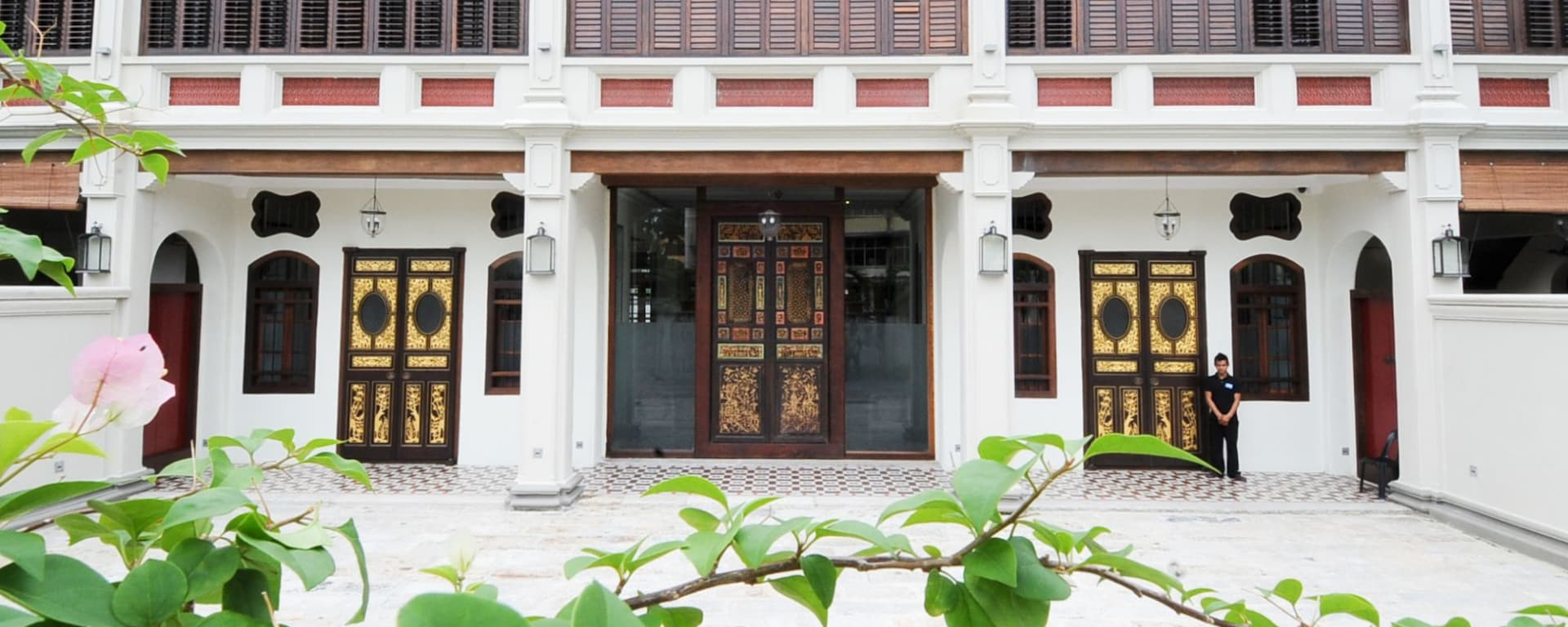 Seven Terraces in Penang: Hotel Entrance