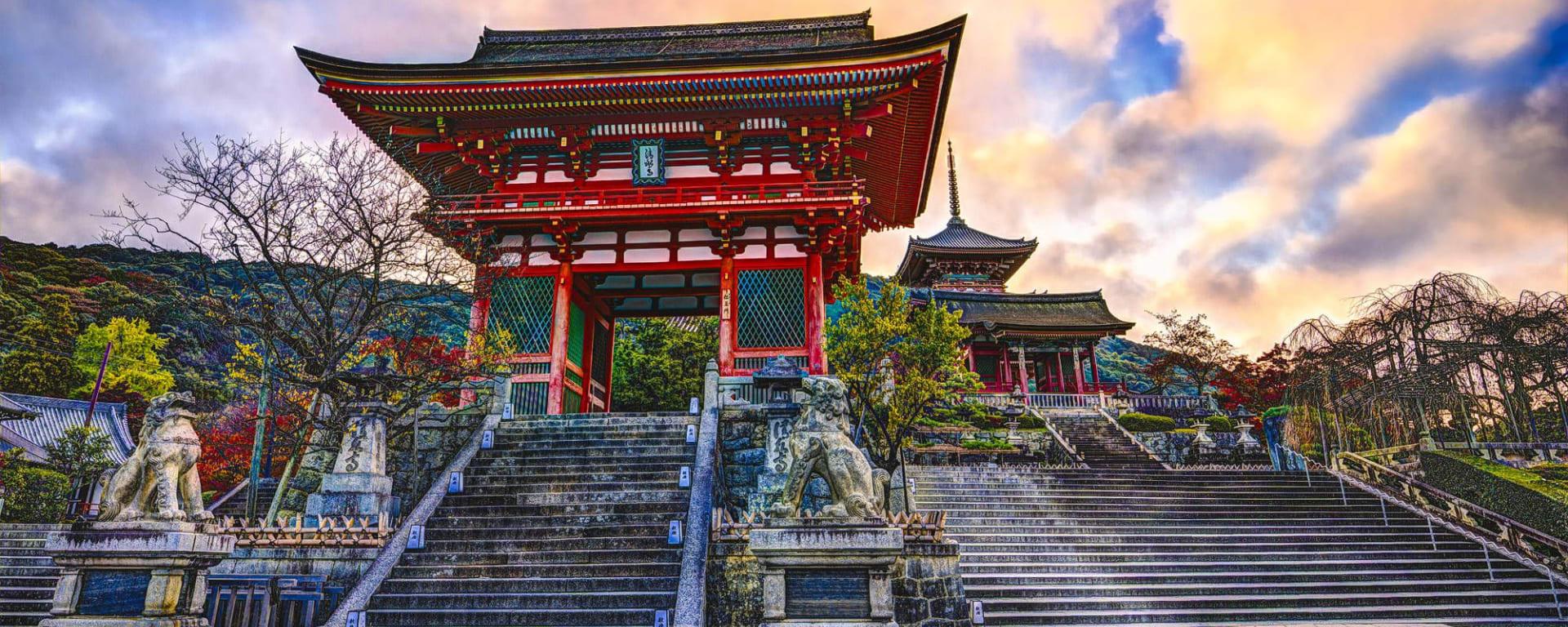 Kyoto Highlights - Ganzer Tag: Kyoto Kiyomizu-dera Temple Gate