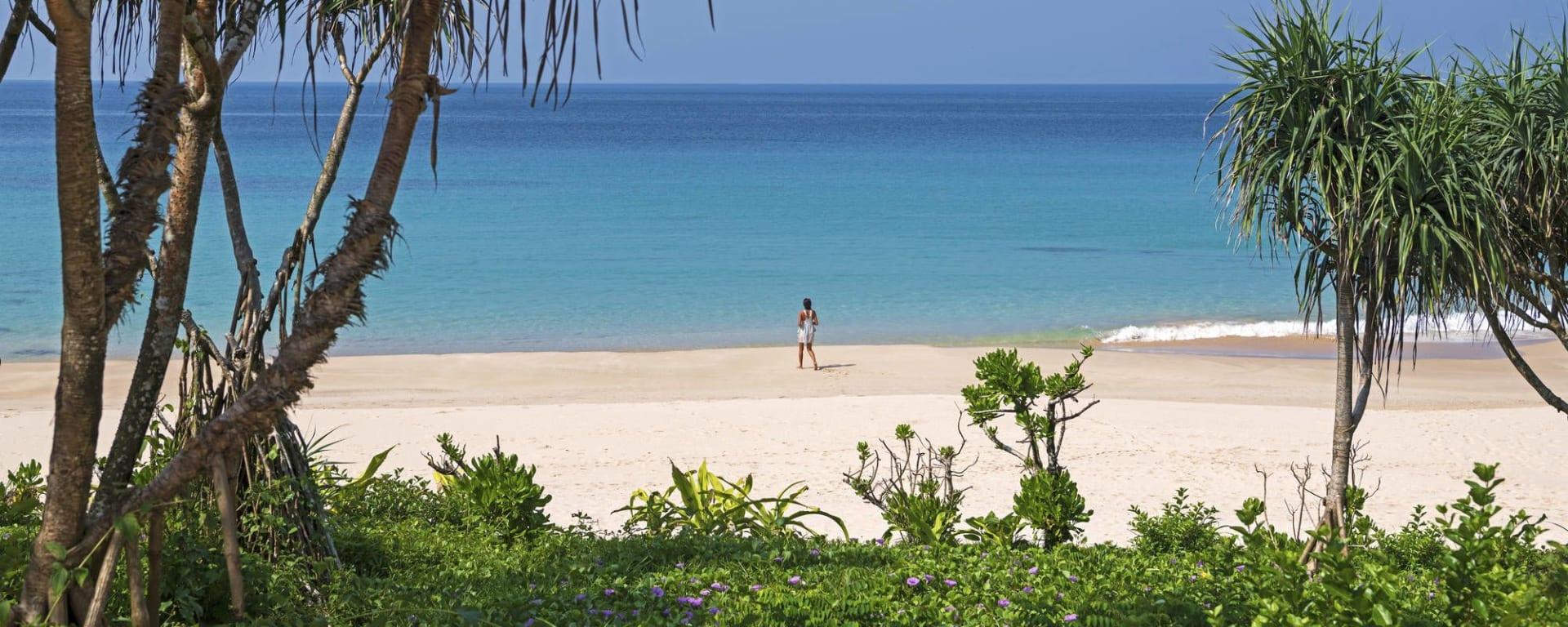 Wa Ale in Mergui Archipel: Beach