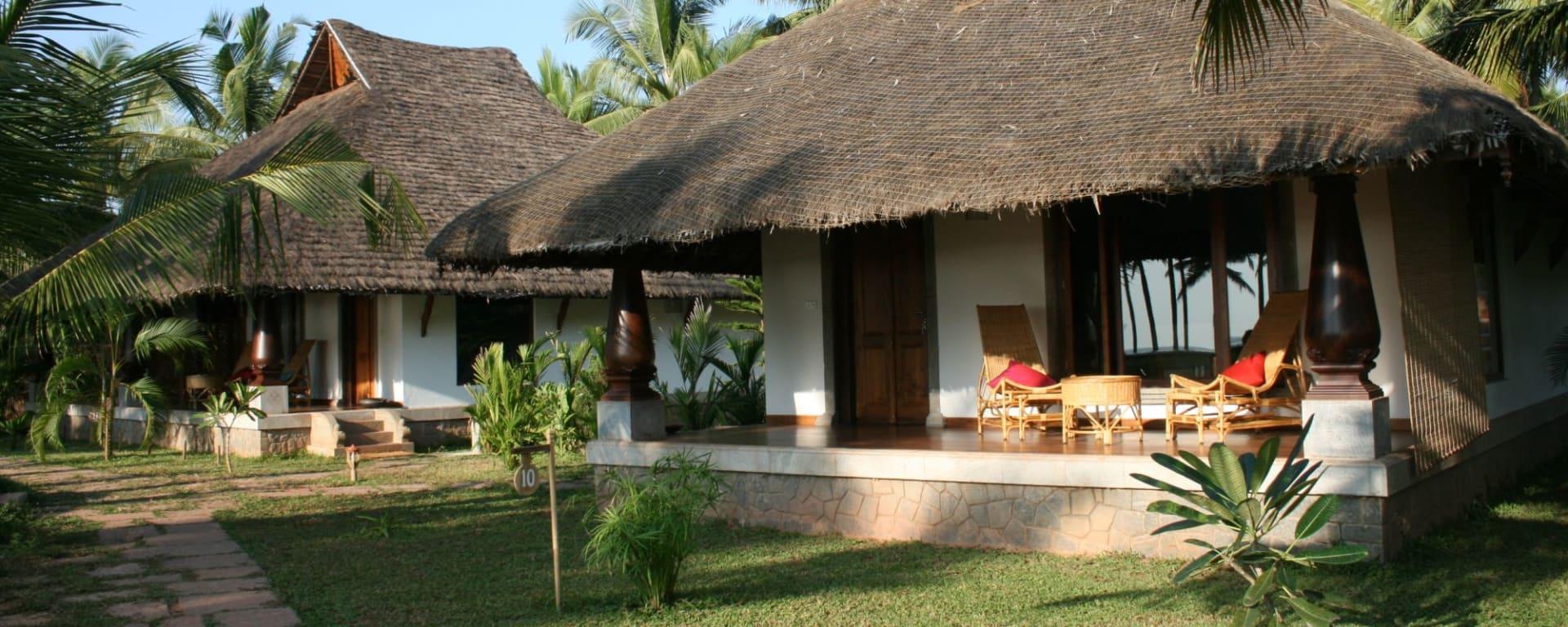 Neeleshwar Hermitage: Deluxe Garden View Cottage