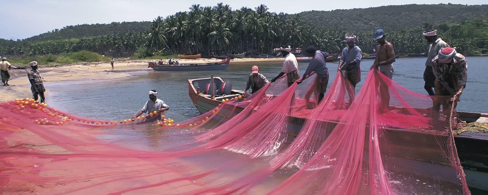 Höhepunkte Südindiens ab Chennai: Kerala: Fishermen