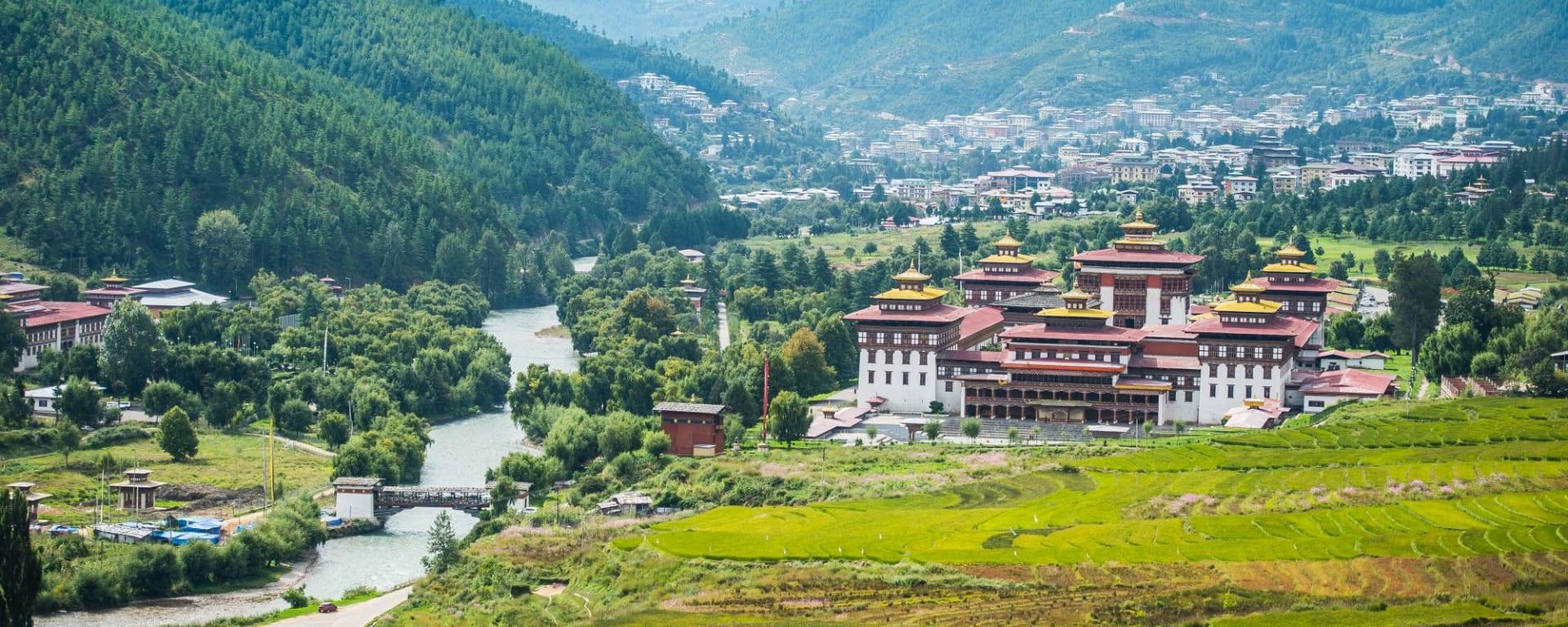 Au pays du Dragon tonnerre de Paro: Trashi Chhoe Dzong Thimphu