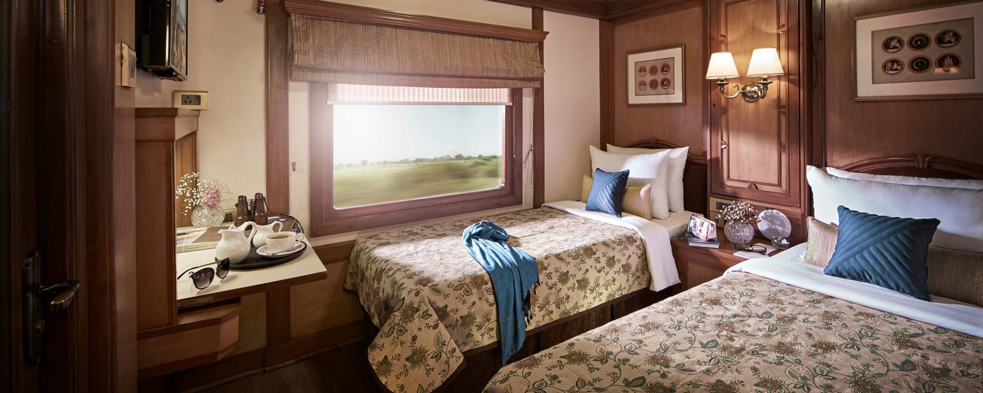 «The Deccan Odyssey» - Die Glanzlichter Rajasthans ab Mumbai: Deluxe Twin room