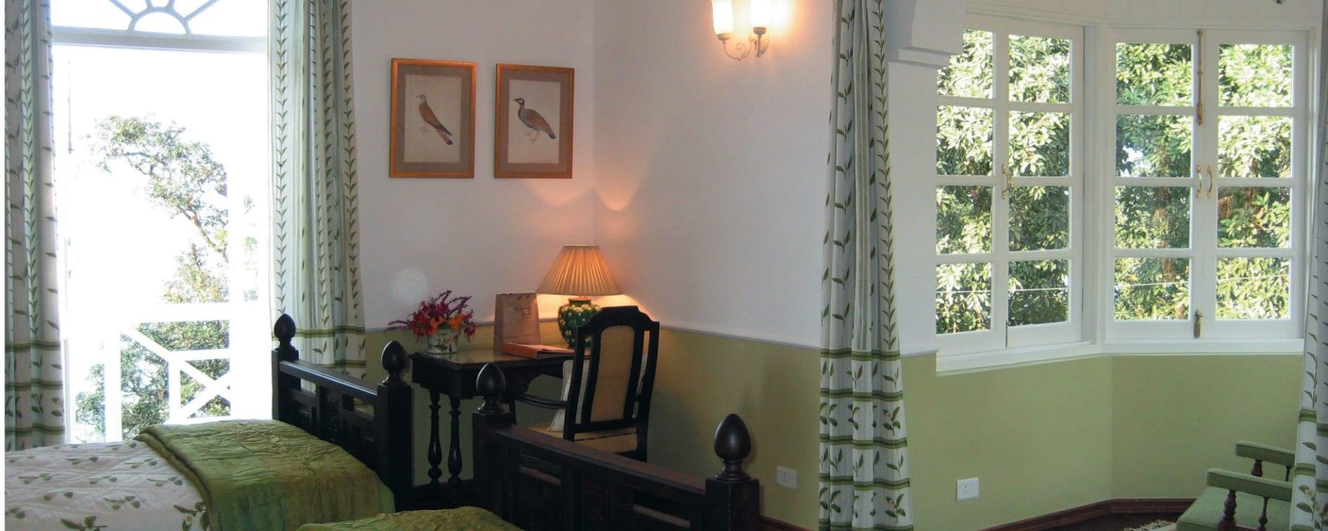 Glenburn Tea Estate in Darjeeling: The Camellia Suite