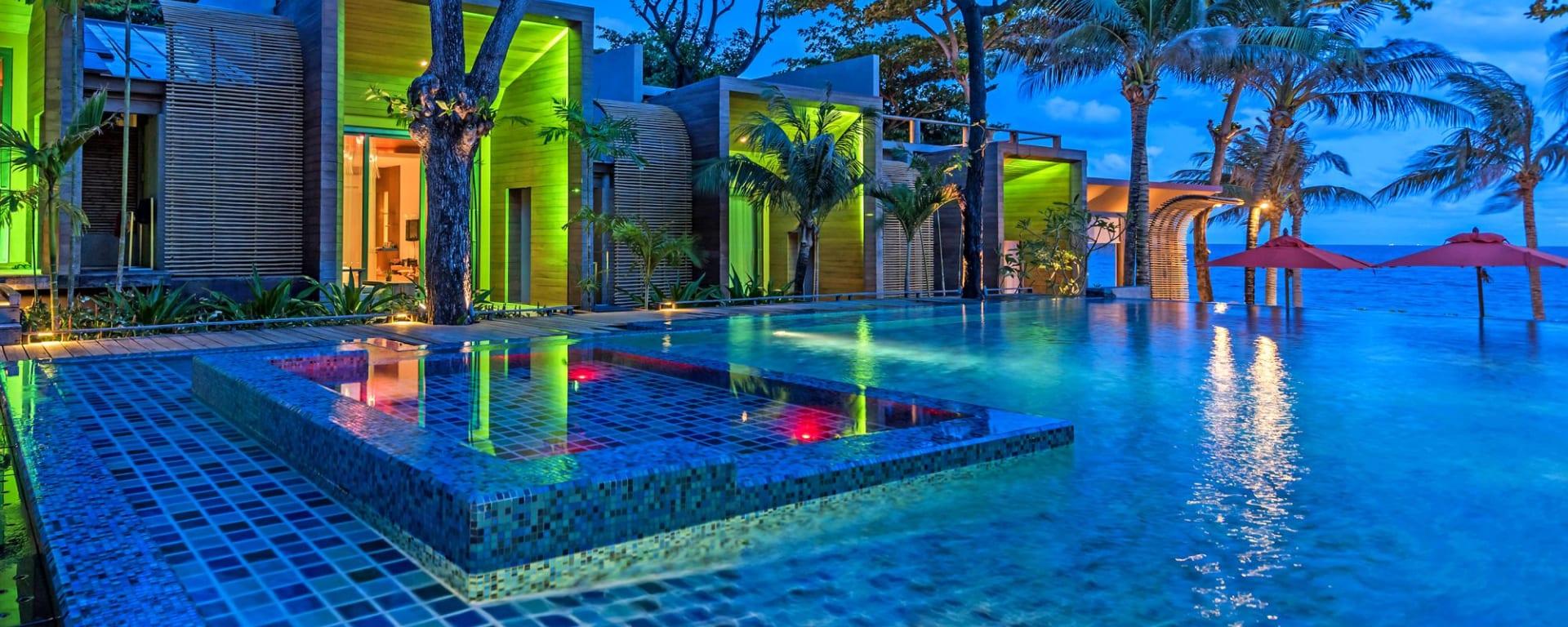 Sai Kaew Beach Resort in Ko Samed: Pool Hip-Zone