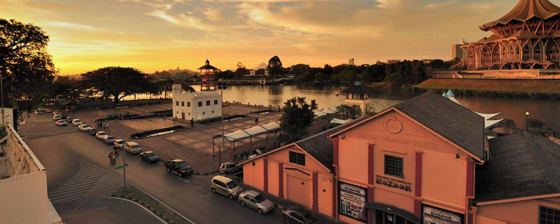 The Ranee Boutique Suites in Kuching: Riverfront