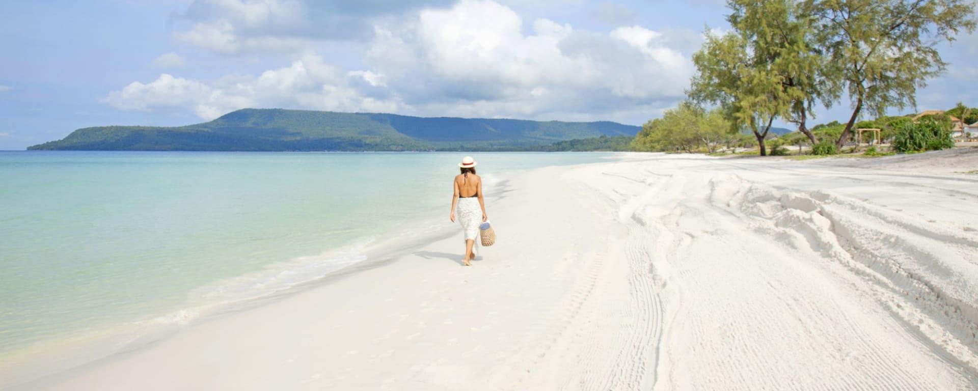 The Royal Sands Koh Rong à Sihanoukville & Îles: Beach