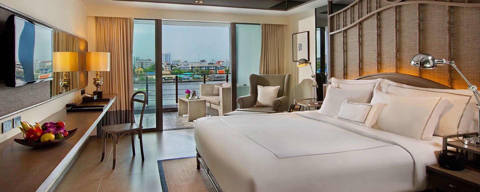 Riva Surya in Bangkok: Deluxe Riva Room