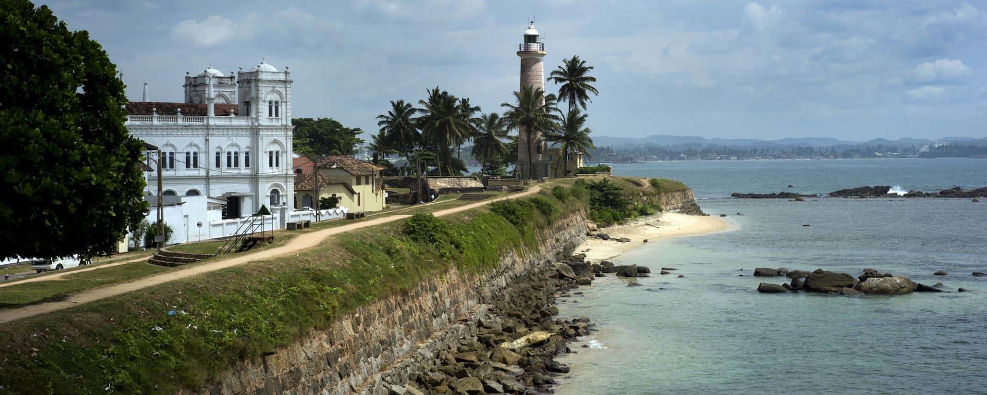 Le Sri Lanka pour les fins connaisseurs de Colombo: Galle with watchtower