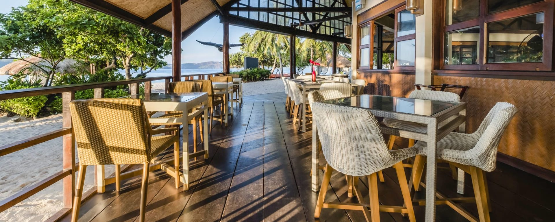 Club Paradise Palawan: Firefish Restaurant