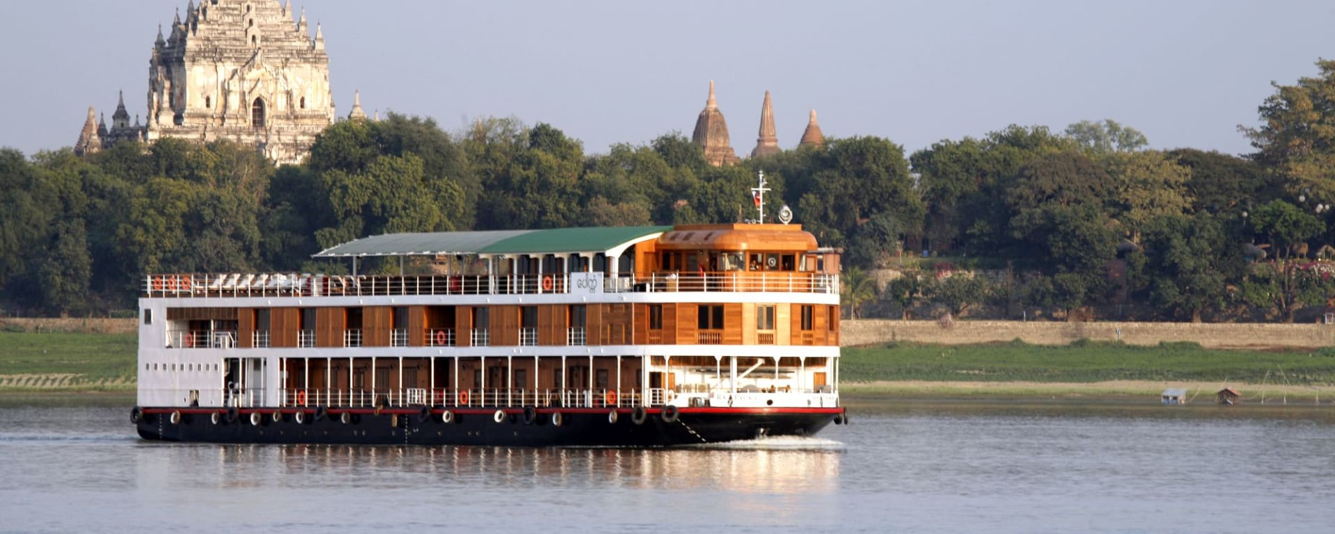 Mythes et légendes du Myanmar de Yangon: RV Paukan 2007
