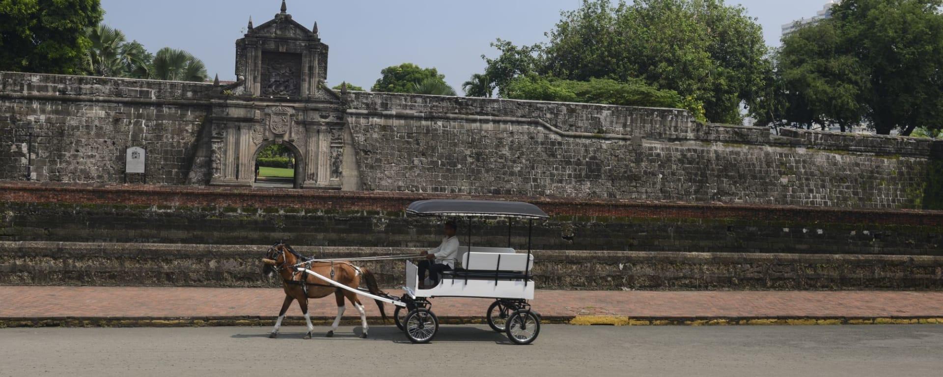 Tour de ville de Manille, demi-journée: Manila Intramuros