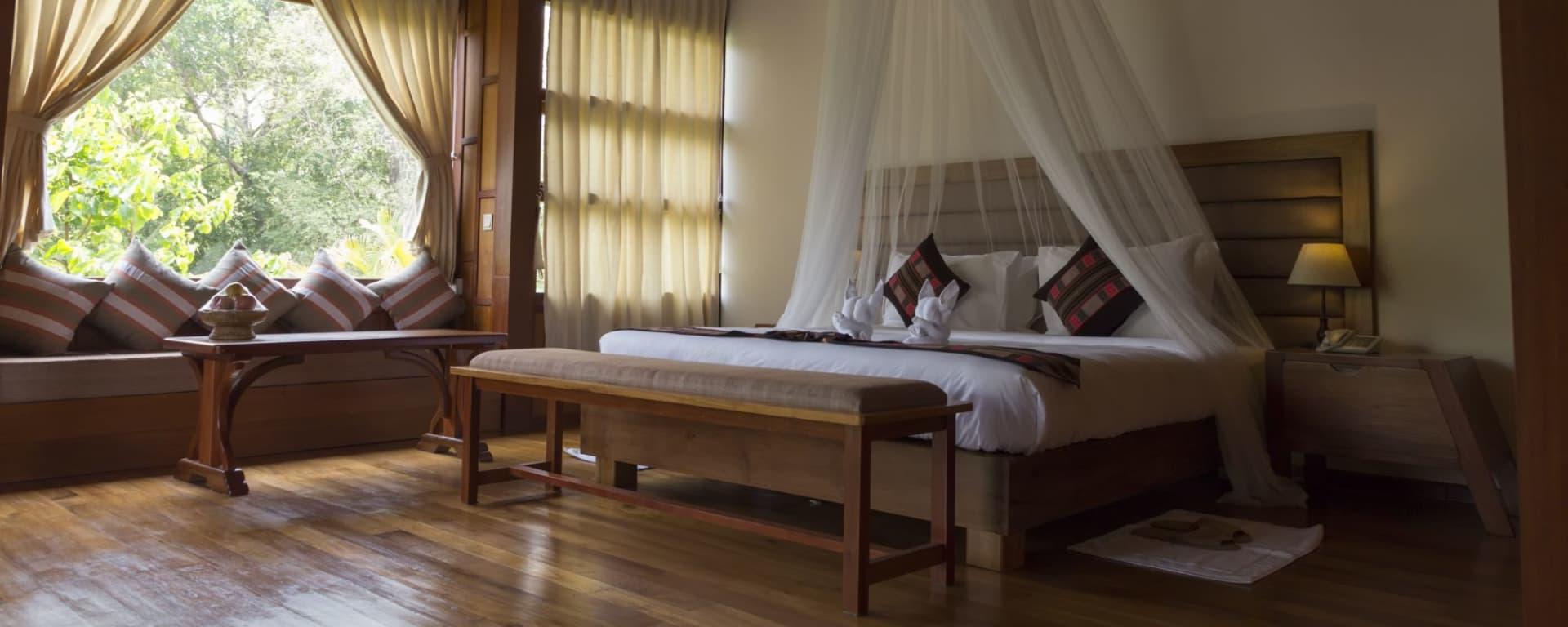 Popa Garden Resort à Bagan: Deluxe Balcony