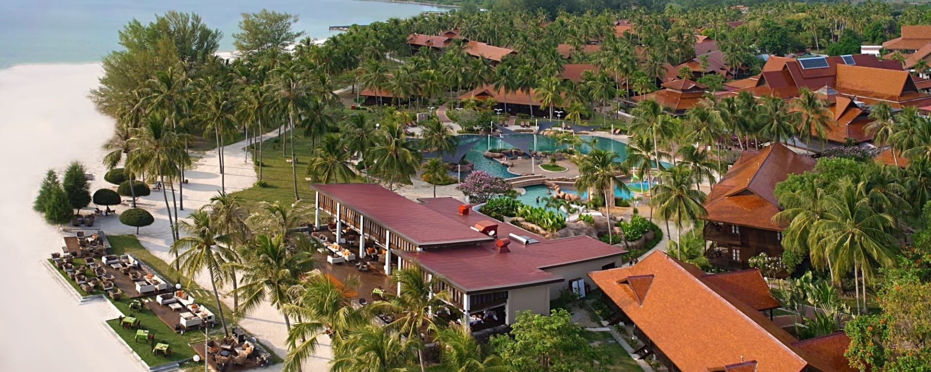 Pelangi Beach Resort & Spa à Langkawi: Aerial View