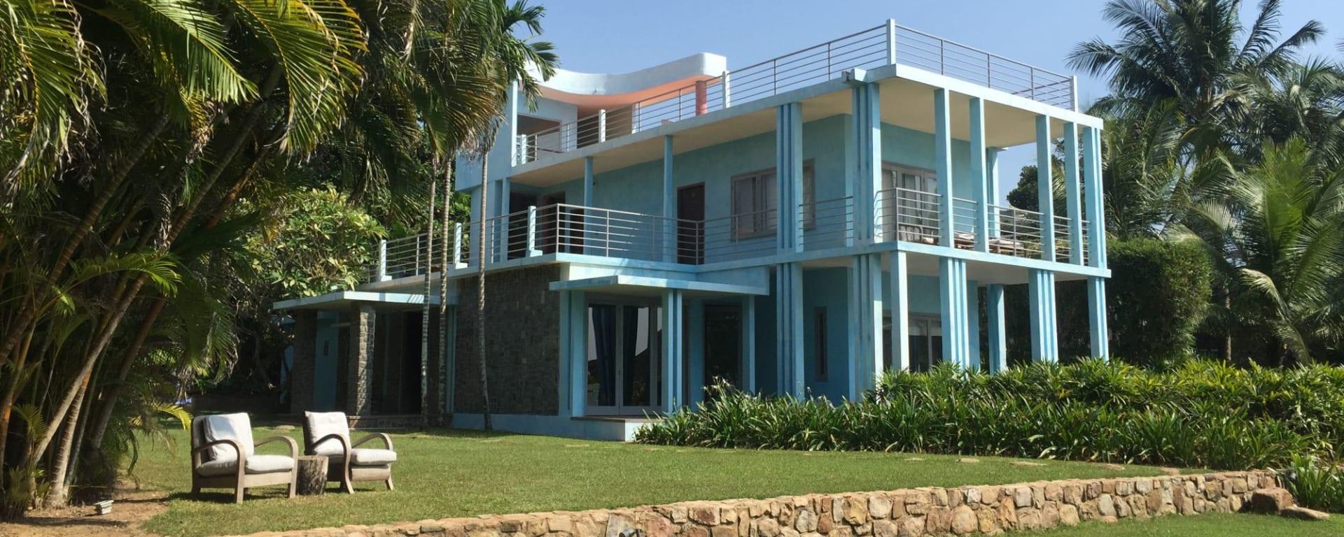 Knai Bang Chatt in Kep: Blue House Knai Bang Chatt