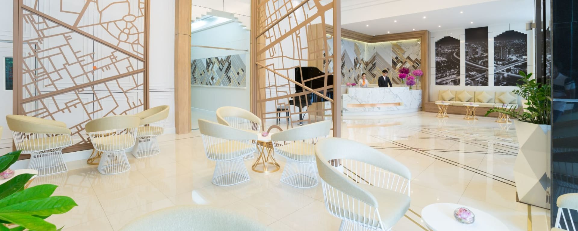 Bandara Suites Silom à Bangkok: Lobby