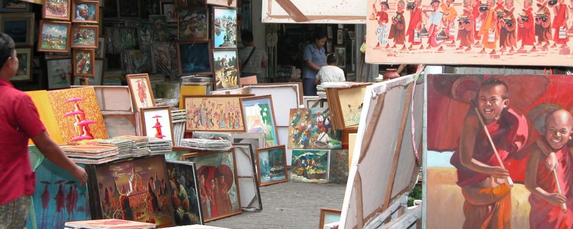 Tour de ville de Yangon: Yangon Bogyoke Market 003