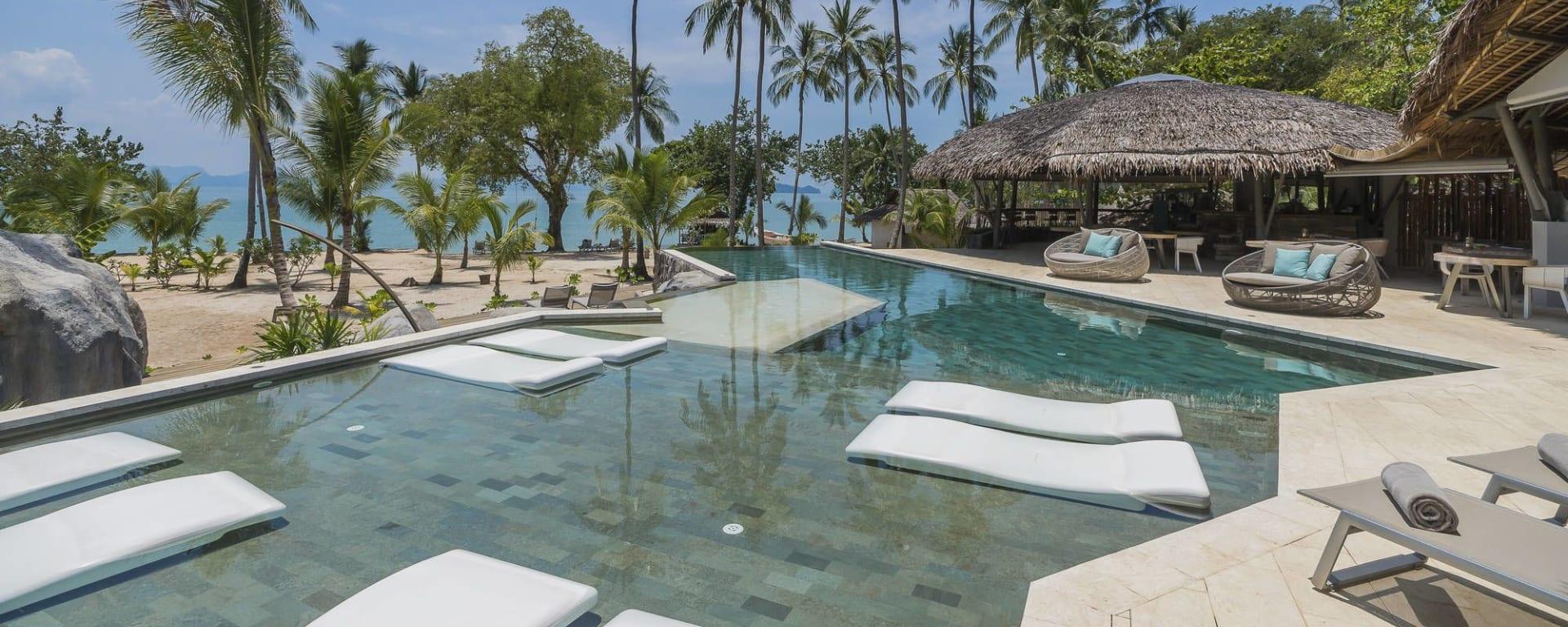 Tree House Villas Koh Yao in Ko Yao: Swimmingpool
