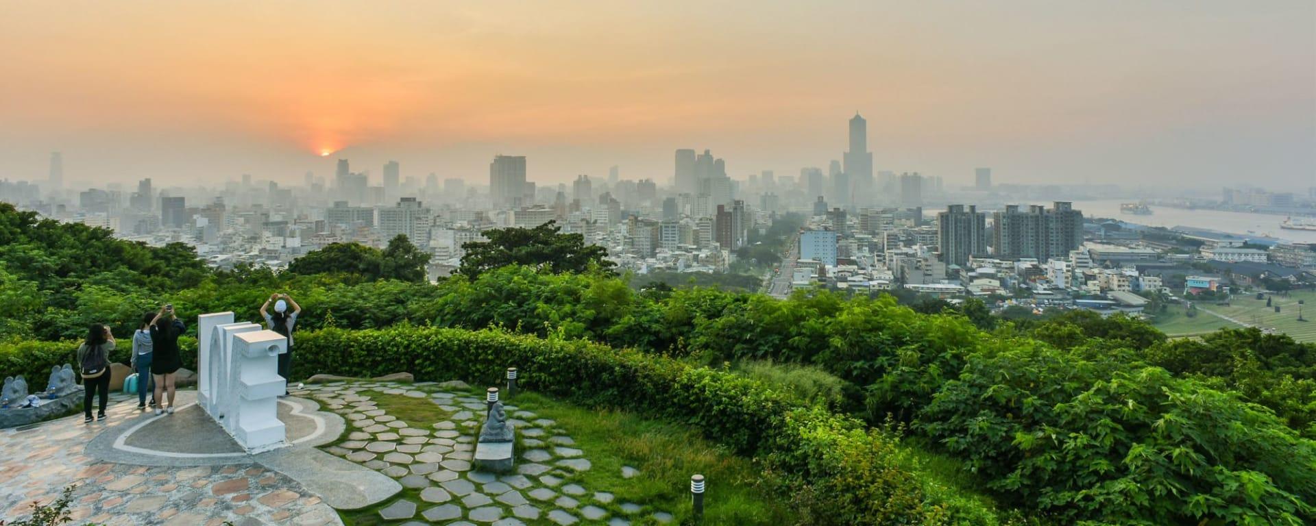 Les hauts lieux de Taïwan de Taipei: Landscape of Kaohsiung Harbor