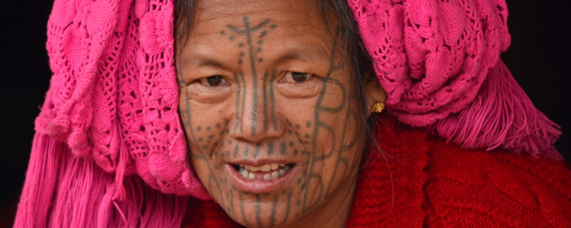Ausflug in die Chin Berge ab Bagan: Myanmar Chin State People