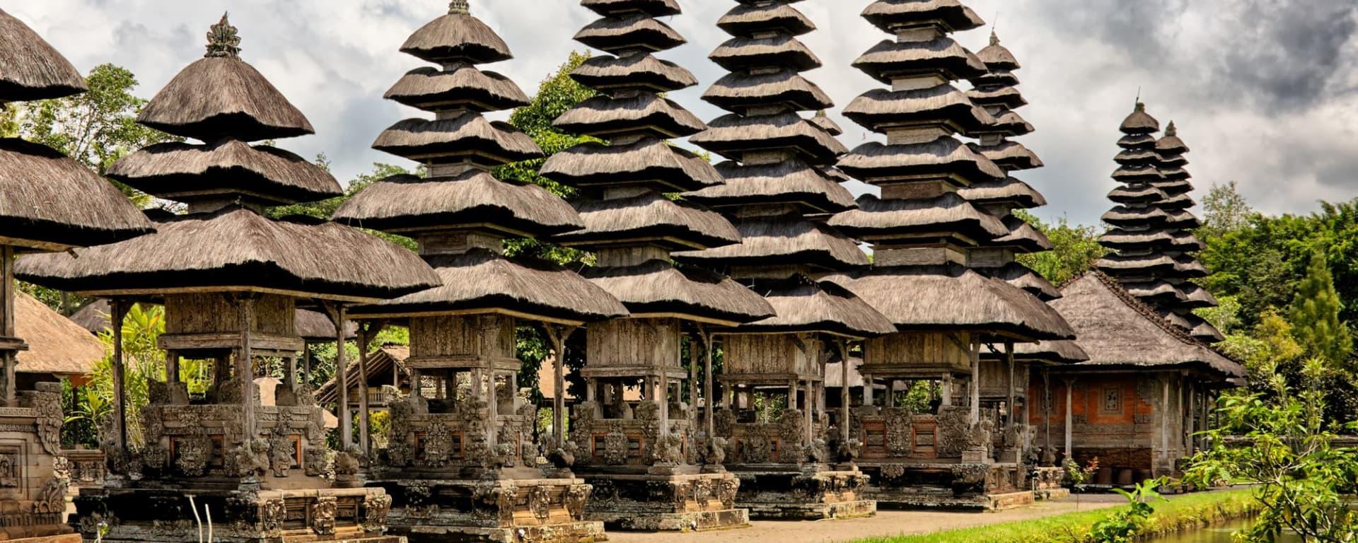 Transfert combiné avec des excursions Bali Sud – Bali Nord à Sud de Bali: Bali Taman Ayun Temple