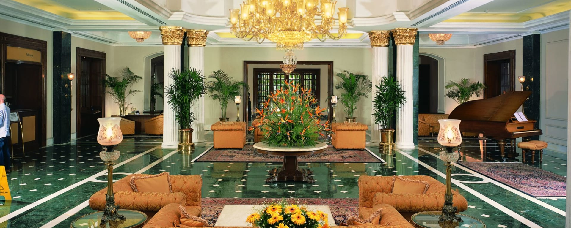The Oberoi Grand à Kolkata: Grand Lobby