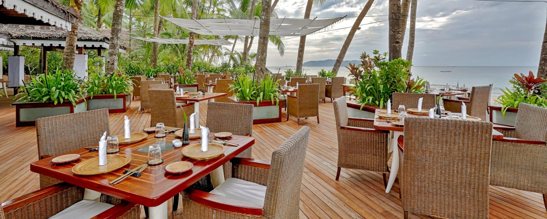 Sandoway Resort à Ngapali: Restaurant