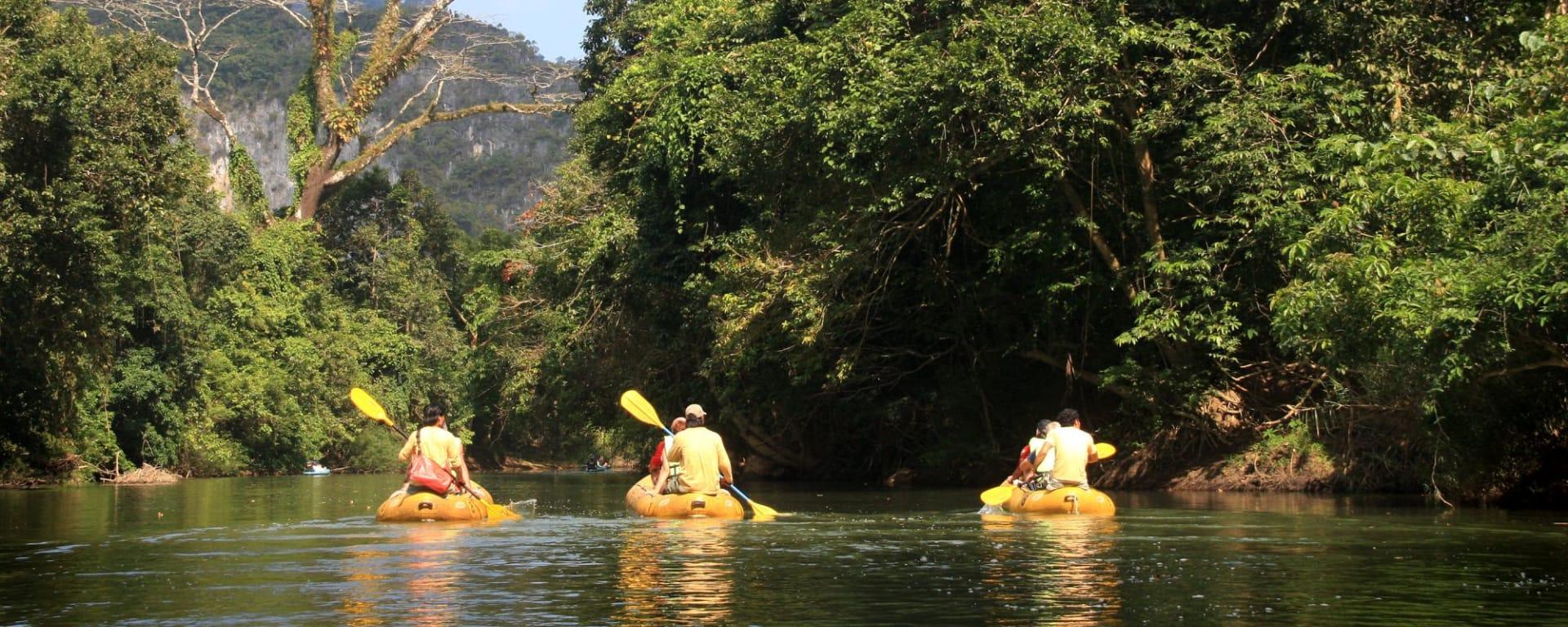 Elephant Hills - 2 Tage ab Phuket: Elephant Hills Canoeing