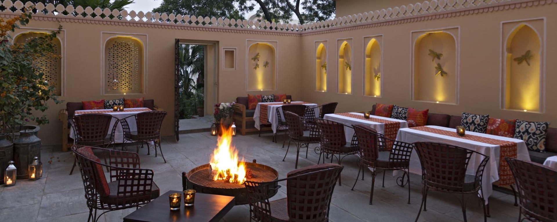 Samode Haveli in Jaipur: Dining & Bar