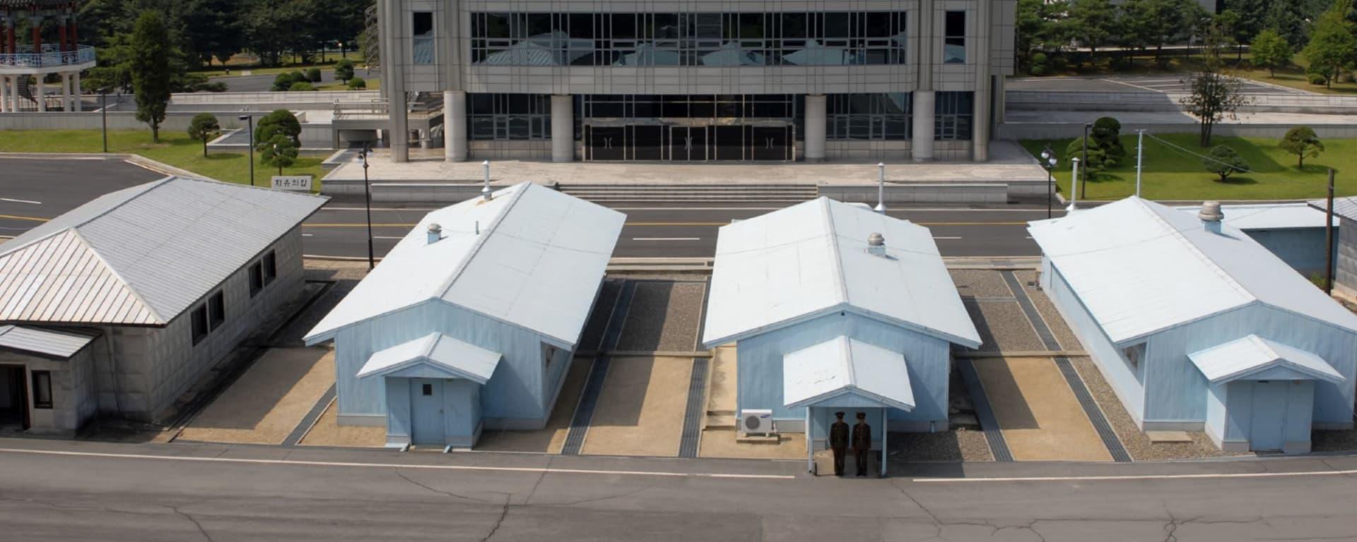 Panmunjon à Séoul: Demilitarized Zone Panmunjon s 001