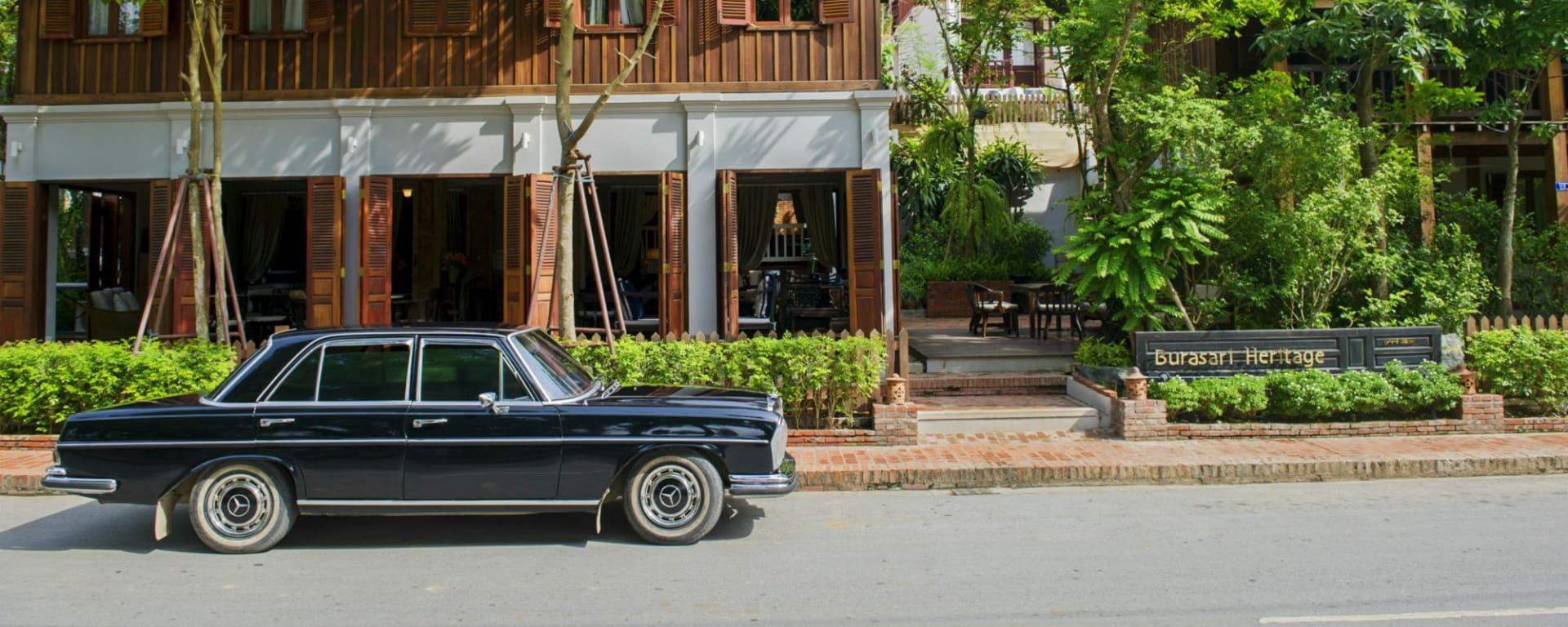 Burasari Heritage in Luang Prabang: Exterior