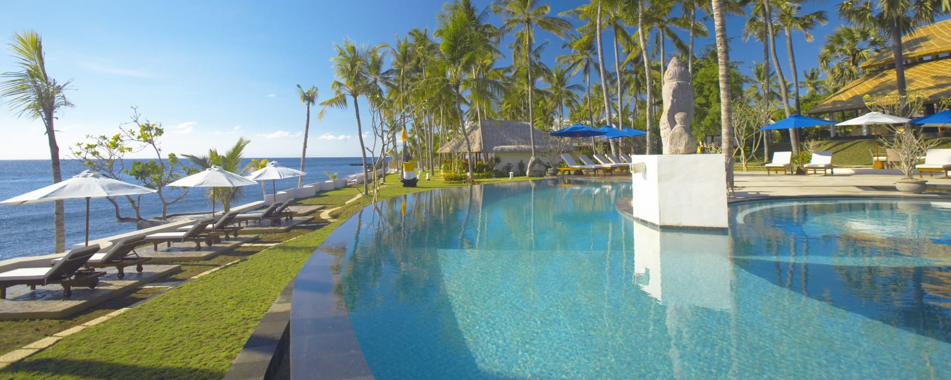 Siddhartha Ocean Front Resort & Spa in Ostbali: