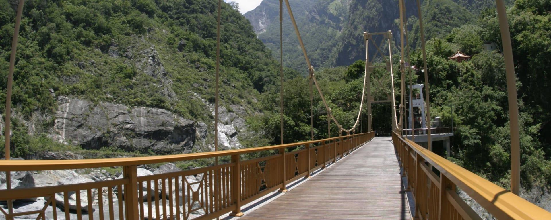 Les hauts lieux de Taïwan de Taipei: Tienhsiang Taroko National Park