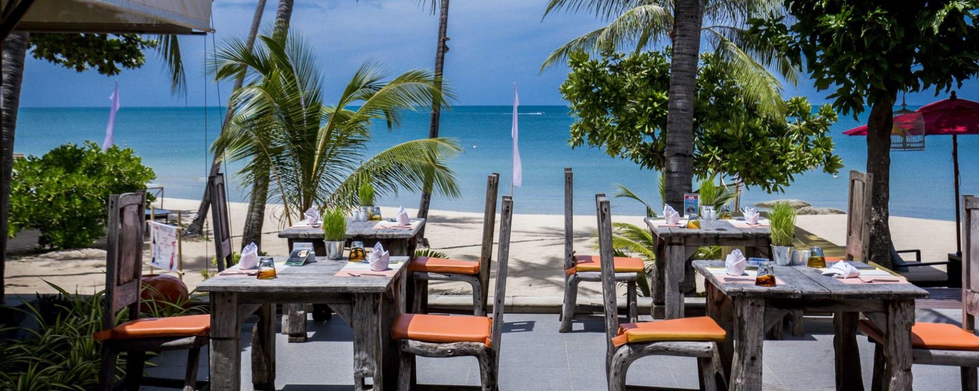 New Star Resort à Ko Samui: Restaurant Chill by the pool