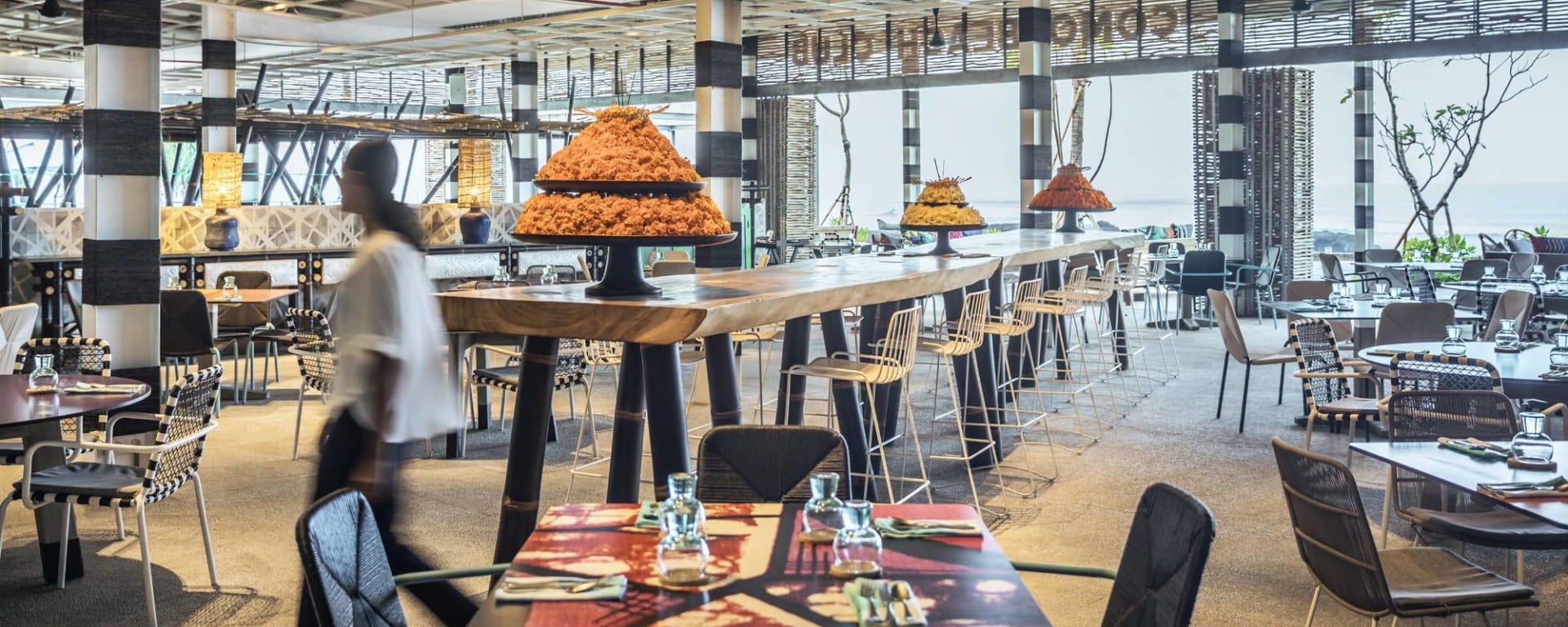 COMO Uma Canggu à Sud de Bali: Beach Club - Restaurant