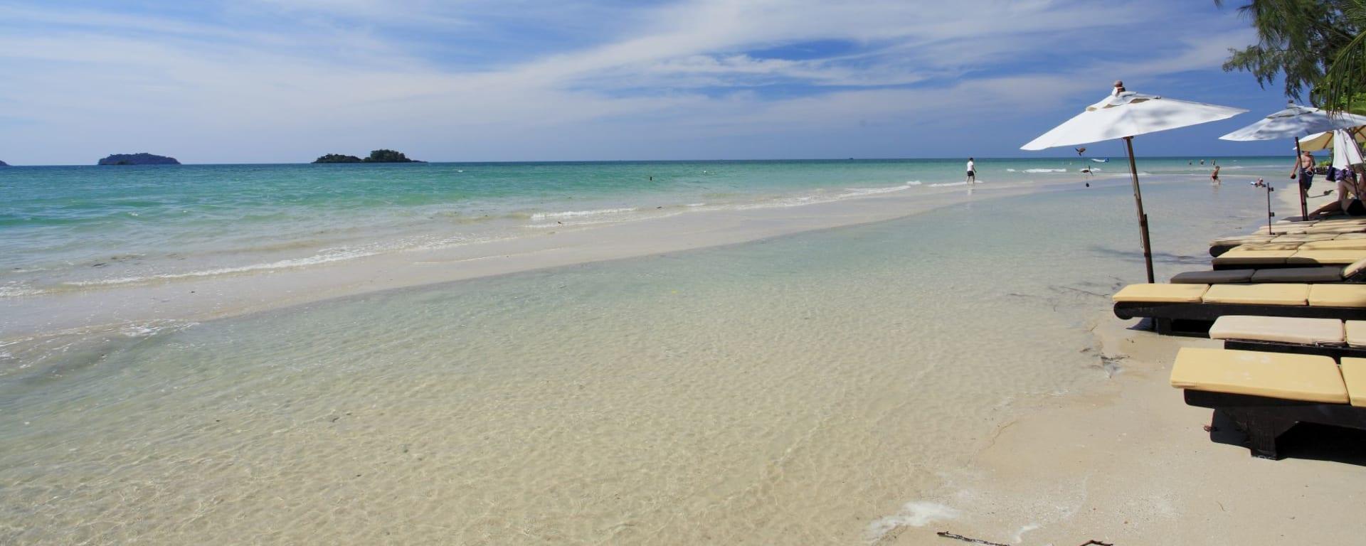 Centara Koh Chang Tropicana in Ko Chang: Beach
