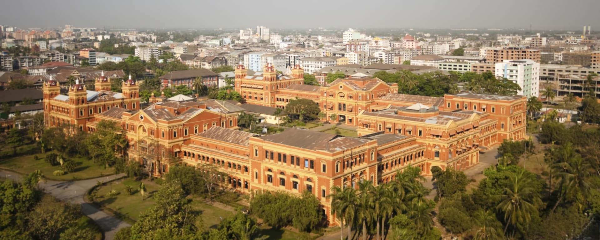 Tour de ville de Yangon: Yangon: city view 002