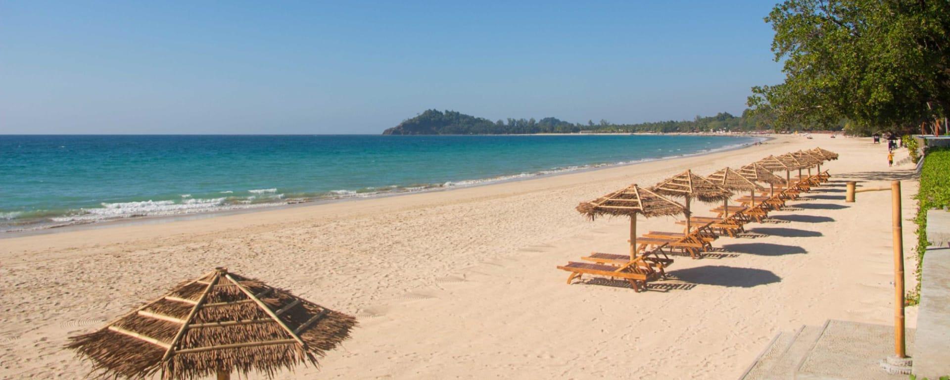 Pristine Mermaid Resort in Ngapali: Beach