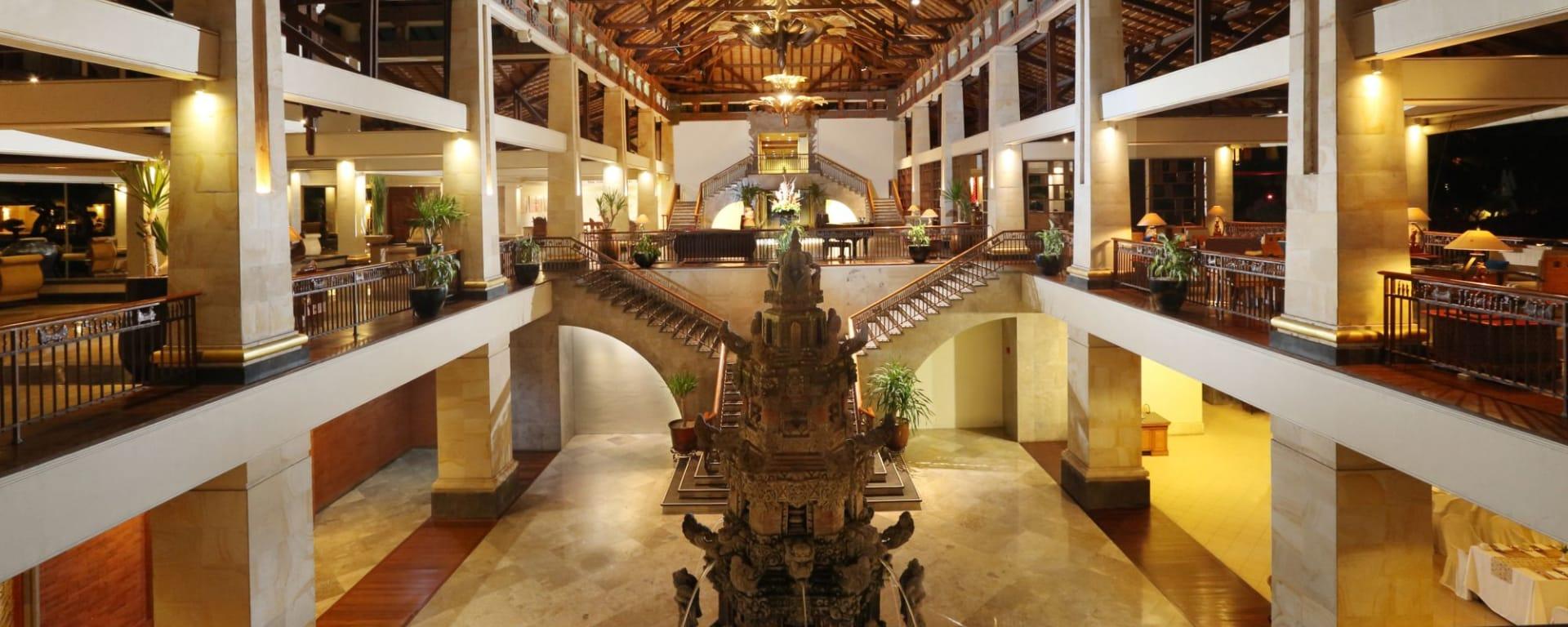 Nusa Dua Beach Hotel & Spa à Sud de Bali: Lobby
