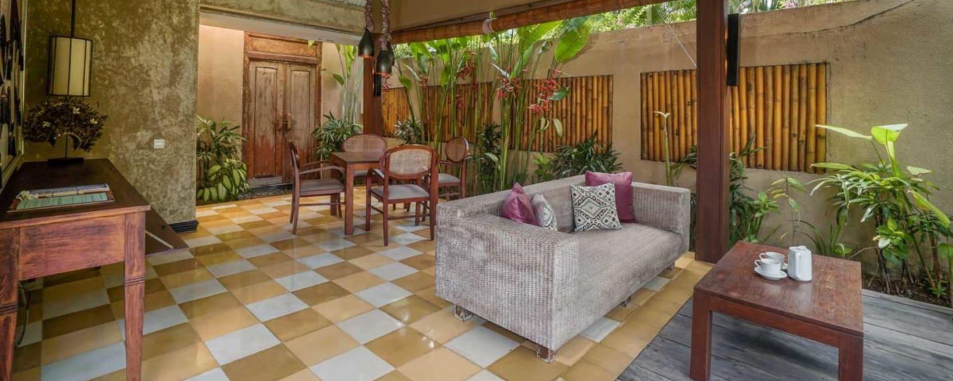 Space Villas Bali in Südbali: 1-Bedroom Villa | outdoor living