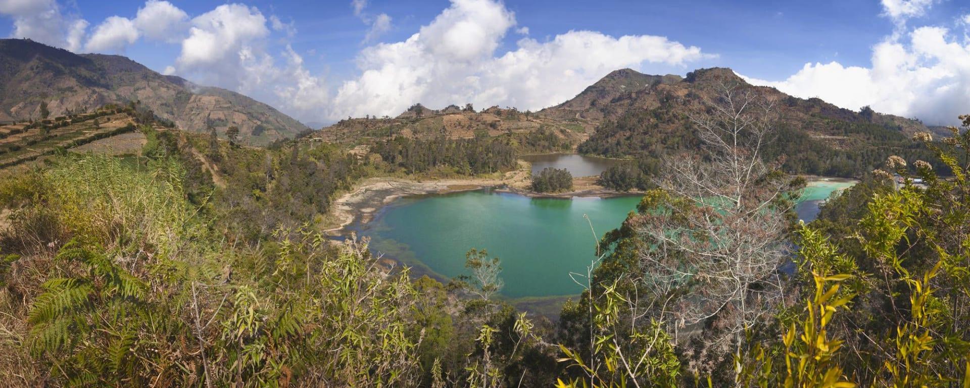 Java-Bali Kompakt ab Yogyakarta: Java Dieng Plateau Lake Telaga Warna