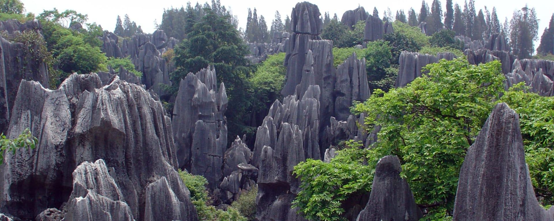 Yunnans unbekannter Süden ab Kunming: Shilin Stone Forest