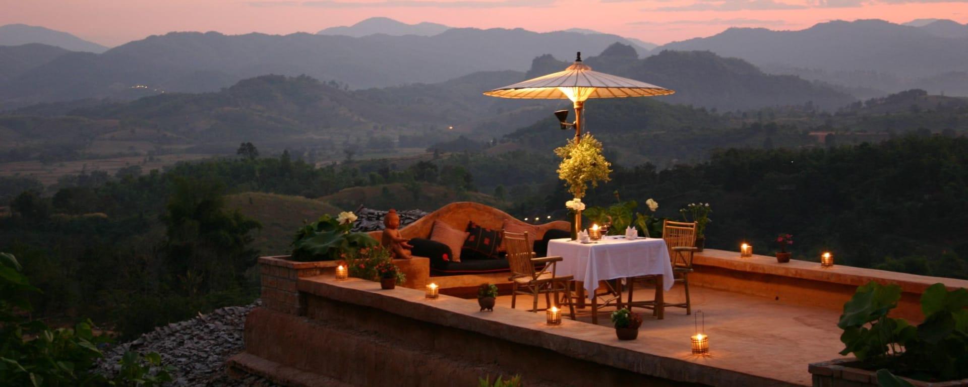 Au fil du Mékong cap sur Luang Prabang de Chiang Mai: Golden Triangle: Phu Chaisai Resort