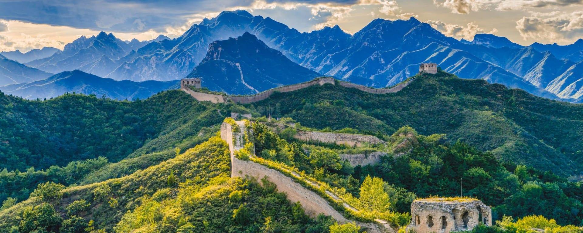 Les hauts lieux de la Chine de Pékin: Great Wall Jinshanling to Gubeikou