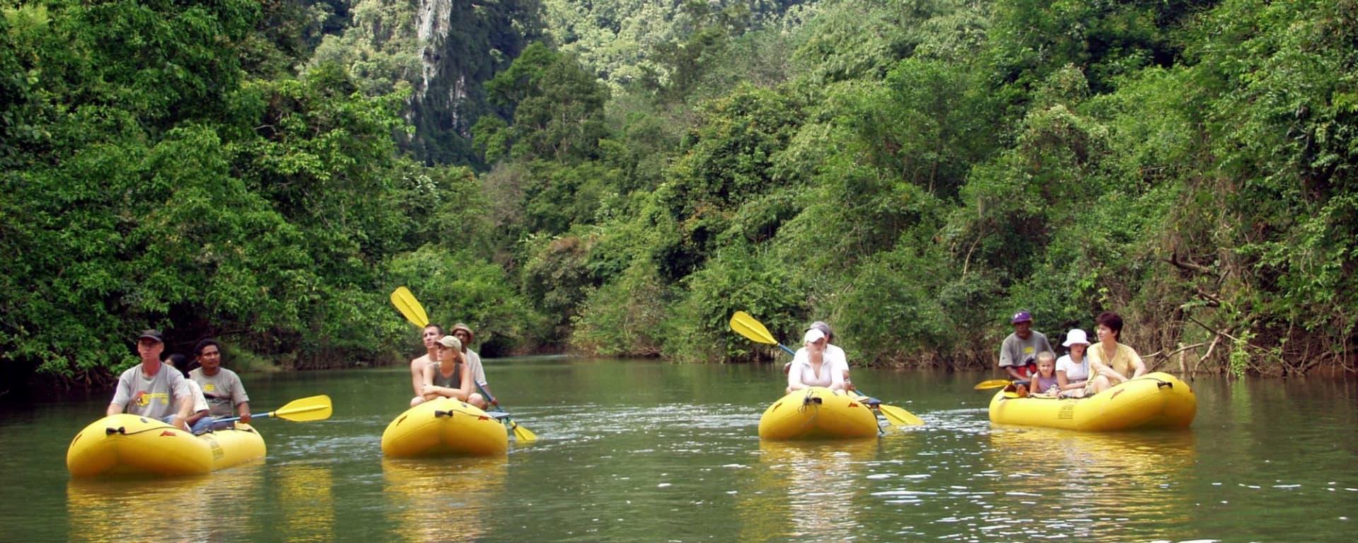 Elephant Hills - 3 Tage ab Phuket: Elephant Hills Canoeing